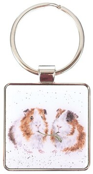 Wrendale Lettuce be Friends Keyring