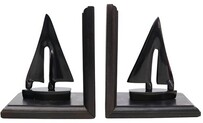 Le Forge Boat Bookends - Black