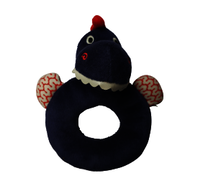 Urban Products Dinosaur Rattle Ring - Blue 15cm