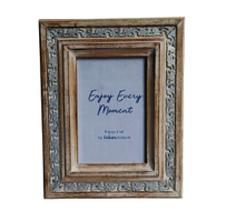 Urban Products Filigree Whitewash Frame - 4x6""