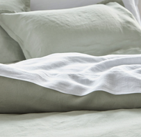 Baksana Linen Sheet Set  - Smoke