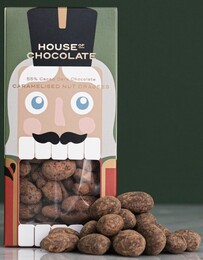 House of Chocolate Nutcracker Nut Dragees - 125g