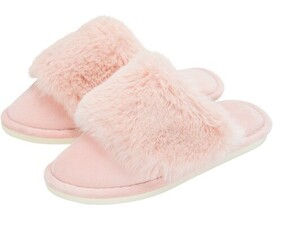 Annabel Trends Cosy Luxe Slipper - Pink