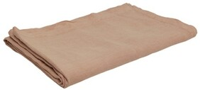 French Country Everyday Linen Tablecloth - Pink Dusk 150x250cmW