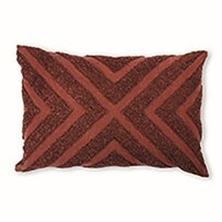 Madras Kennedy Cushion Paprika 40x60cm
