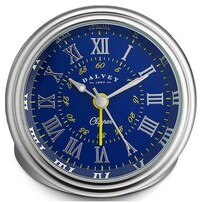 Dalvey Clipper Clock Blue/Yellow