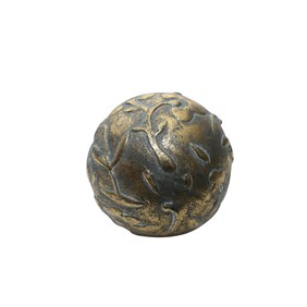 Oneworld Gold Decorative Metal Ball Leaves