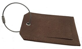 Easy Days Travel Tag - Brown