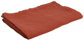 French Country Everyday Linen Tablecloth - Rust 150x250cmW