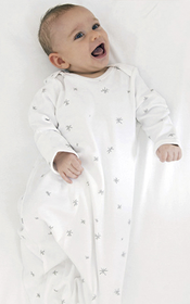 Babu Baby Bundler Sleep Sack - Grey Star