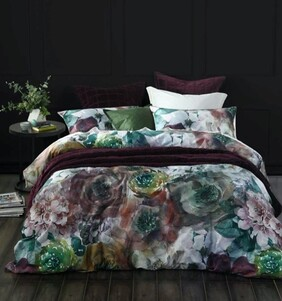 MM Linen Aubrey Duvet Set - Multi