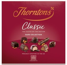 Thorntons Dark Classic Collection - 260g