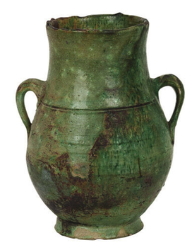Moroccan Urn Small - Green
