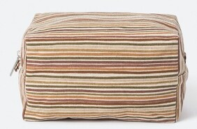 Citta Hara Wash Bag - Brick/Multi Large
