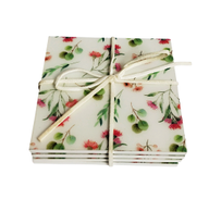 Urban Products Native Flora Coasters - S/4