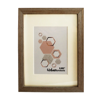 Urban Products White Wash Frame - 3.5x5""