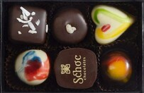 Schoc Assorted Boxed Chocolates - 6 pce 78g