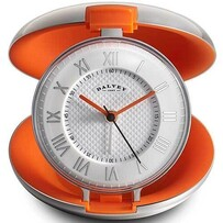 Dalvey Capsule Clock Orange 80x29mm