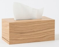 Citta Oku Tissue Box - Natural 26x13.5x11.5cmh