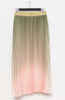 Stella & Gemma Ombre Skirt - Chive/Rose
