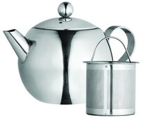Avanti Nouveau S/less Steel Teapot - 500ml