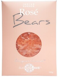 Sugarcrave Rose Bears - Pink 100g