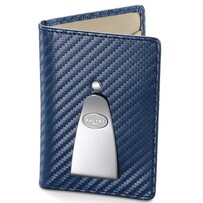Dalvey Continental Carbon Fibre Wallet Blue