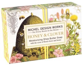 Michel Honey & Clover Boxed Soap