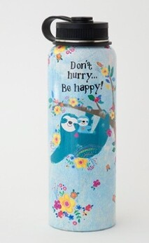 Natural Life Sloth Water Bottle/Flask - 1.1L