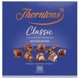 Thorntons Milk Classic Collection - 262g