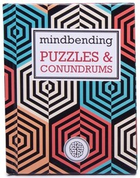 IS Mindbender Puzzles & Conundrums Book