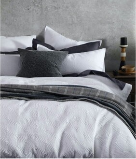 MM Linen Taika Duvet Set - White