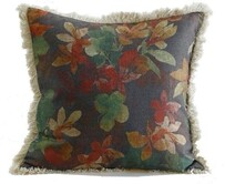 MM Linen Bordeaux Cushion - 50x50cm