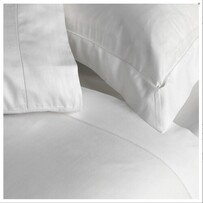 Baksana 500TC Optic Pillowcase - White Oxford Pr