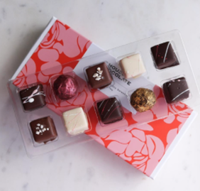 House of Chocolate Truffle Selection Chocolates Boxed - 10pc