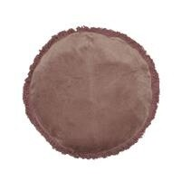 French Country Boudoir Round Cushion Pink - 45cmD