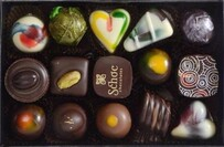 Schoc Assorted Boxed Chocolates - 15 pce 195g