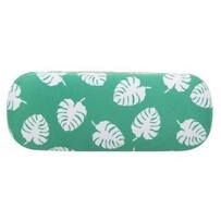 Annabel Trends Glasses Case Microfibre Cloth - Green & White