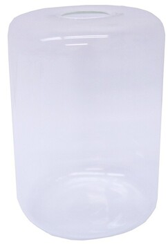 Le Forge Sienna Tube Vase Med - Opaque White