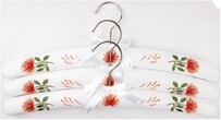 Alice & Lily Embroidered Pohutukawa Hangers - Set of 3