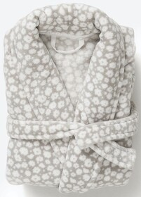 Citta Forget Me Not Women's Dressing Gown - Fog