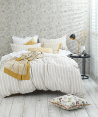 MM Linen Finch Linen/ Cotton Duvet Set