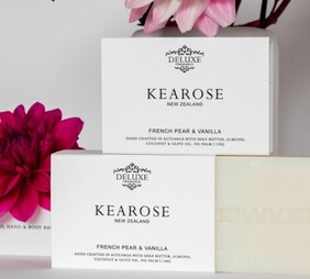 Kearose French Pear & Vanilla Hand & Body Bar - 130g