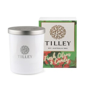 Tilley Fresh Citrus & Candy Candle - 240g