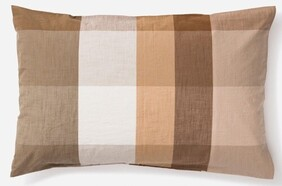 Citta Frankie Organic Cotton Pillowcase - Multi Std Pr 76x50cm