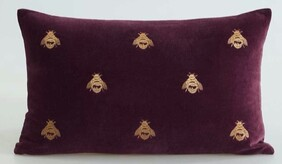 MM Linen Buzz Cushion Port - 50x30cm
