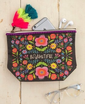 Natural Life Beyoutiful Cosmetic Bag - Black