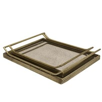 French Country Fifi Antique Rectangle Tray