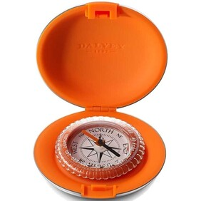 Dalvey Pocket Compass Orange