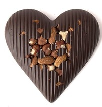 Devonport Chocolates I'M Nuts About You Chocolate Heart - 100g